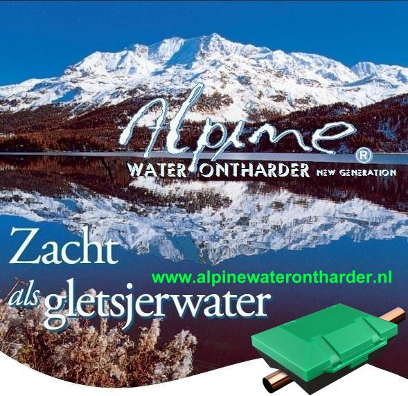 Alpine waterontharder new generation stopt kalkaanslag va. € 199,-