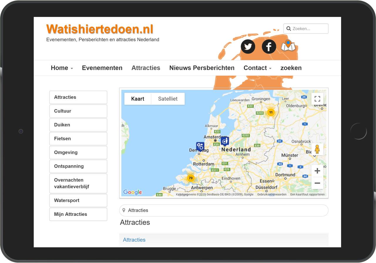Attracties op watishiertedoen.nl